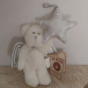 Boyds bears christmas angel ornament